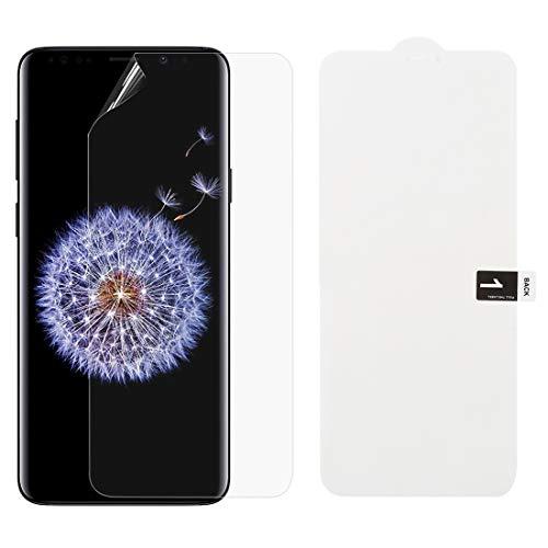 Dmtrab Phone Case para Película de hidrogel Suave Protector Delantero de la Cubierta Completa para Samsung Galaxy S9 Tapa de Paquetes
