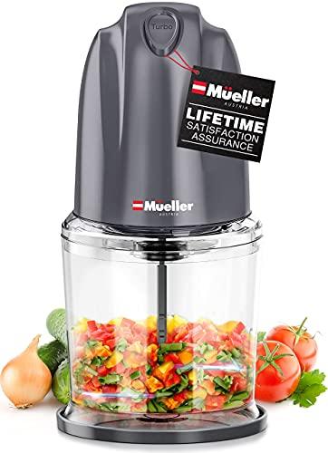 Mueller Electric Chopper Mini Food Processor for...