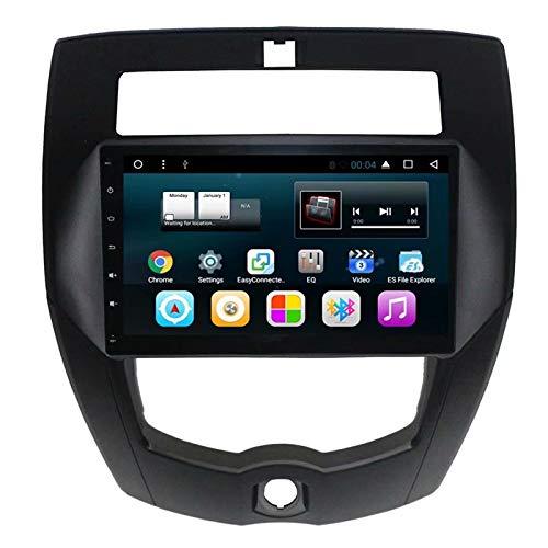 TOPNAVI 2Din 10.1 Pouces autoradio pour Nissan Livina 2007 2008 2009 2010 2011 2012 2013 2014 2015 2016 Android 7.1 Radio Stéréo avec GPS WiFi 3G RDS Lien Miroir BT