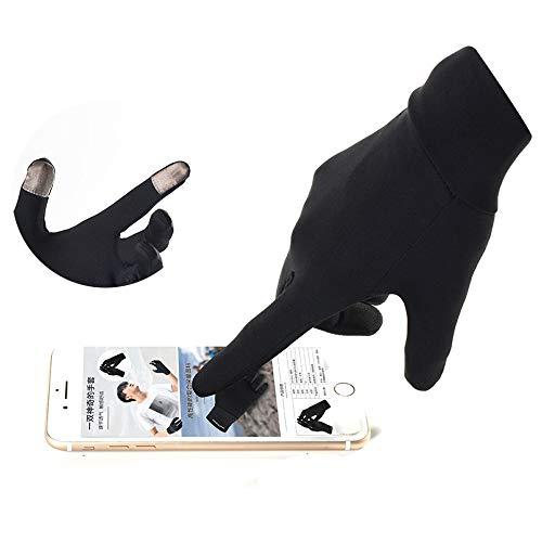 WUZHI Handschuhe Mit Coated Für Alle Modelle Von Apple IPhone, Samsung, Sony, Nokia, Google, LG, HTC Und Allen Anderen Smartphones Und Tablets,Black-M