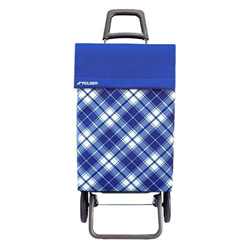 Rolser - Chariot Jean Capri Convert blauw
