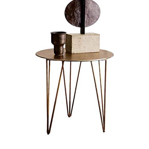 table basse table basse Nordic Iron art La simplicité moderne Salon de loisirs balcon Côté