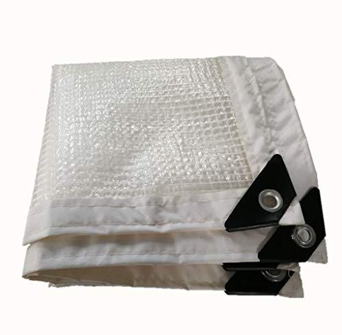 JIANFEI Plane Wasserdicht Regenfest Anti-Aging-Verschleißschutz Lange Lebensdauer, PE 19 Größe Anpassbar (Color : White, Size : 1x2m)