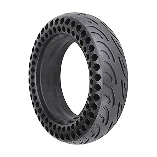 Neumáticos patinetes eléctricos, neumáticos panal abeja a prueba explosiones 10 pulgadas, resistentes...