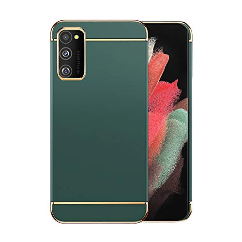 Funda Samsung M30s Case,Fundas Samsung Galaxy M30s Antigolpes Carcasa Diseño Minimalista Estuche Rígido Ultra Original Delgado de PC a Prueba (Samsung M30s, Verde Oscuro)