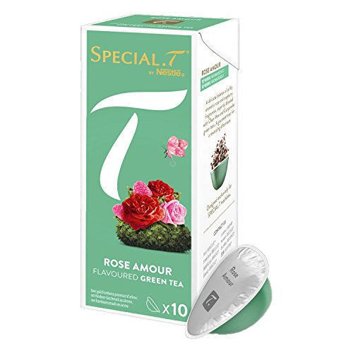 SPECIAL.T by Nestlé Thé Vert Rose Amour Boîte 10 Capsules 23 g