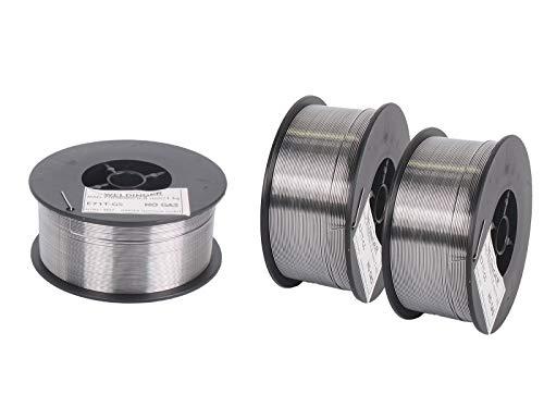 3 Rollen WELDINGER Fülldraht D100 0,8 mm 1 kg (MIG/MAG-Schweißdraht NoGas)