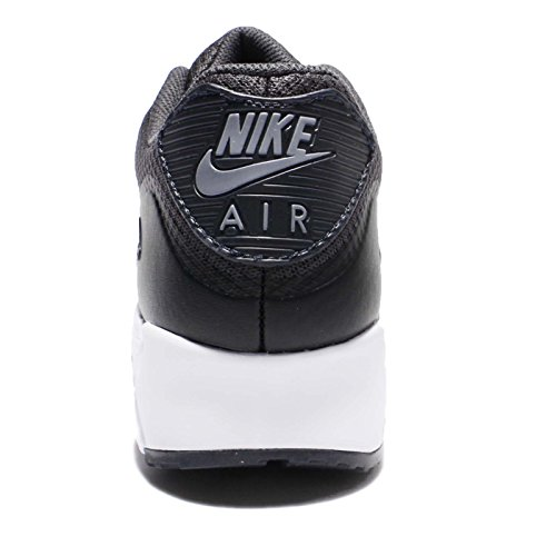 Nike Air MAX 90 Ultra Essential, Zapatillas de Running para Hombre, Negro (Negro (Black/Cool Grey-Anthracite-White), 40 1/2 EU