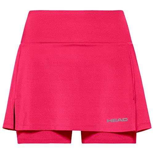 HEAD Damen Club Basic W Skirts, Magenta, M EU