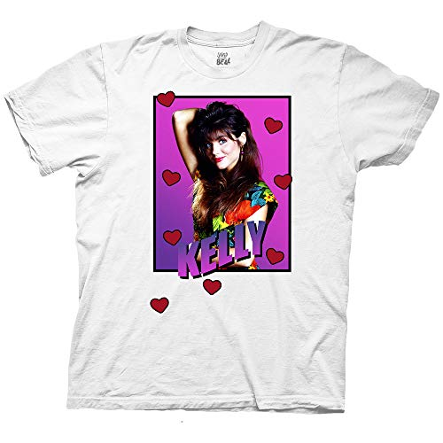 Official Adult Kelly Kapowski Loveheart T-shirt by Ripple Junction