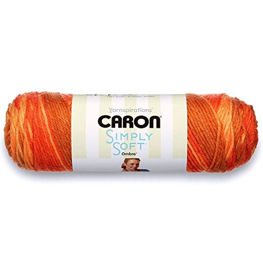 Caron Simply Soft Ombre Yarn (4) Medium Gauge 100% Acrylic - 5oz - Gold -  Machine Wash & Dry