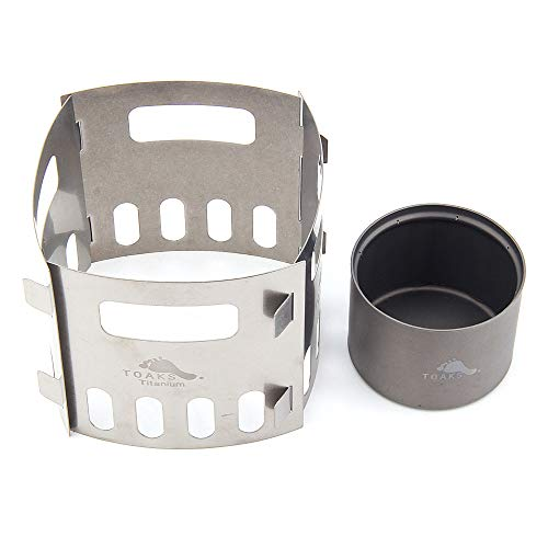 TOAKS TITANIUM ALCOHOL STOVE POT STAND (Stove With FRM-03)