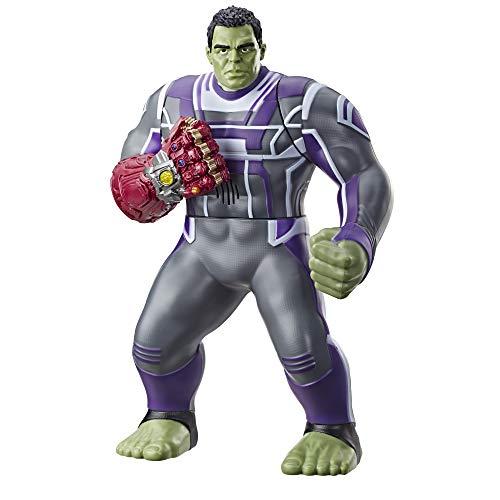 Avengers - Figura electrónica Hulk (Hasbro E3313EW0), Versión inglesa