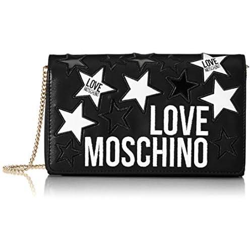 Love Moschino Jc4092pp1a, Borsa a Mano Donna, Nero (Nero), 6x14x23 cm (W x H x L)