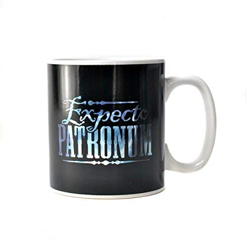 Harry Potter Expecto Patronum calor taza cambiante con el calor