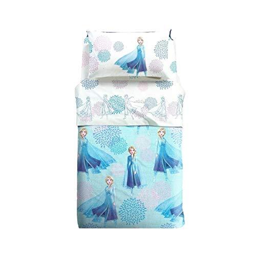 Caleffi Nuovo Copriletto Frozen Singolo Elsa Blu Copriletto