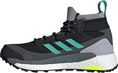 adidas Zapatilla Terrex Free Hiker GTX W, Botas de Senderismo Mujer, CBLACK/ACIMIN/HIREYE, 40 2/3 EU