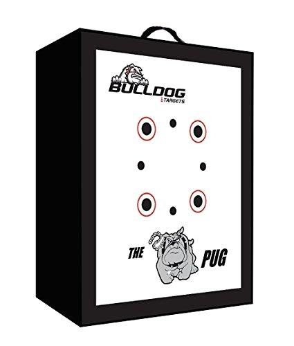 "Bulldog Pug 19""x 16""x 10"" Self Standing Lightweight Archery Target"