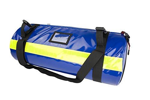 Sauerstofftasche aus Plane mit 1,8 Liter Sauerstoffflasche und regelbarem Druckminderer 0-25 l/min