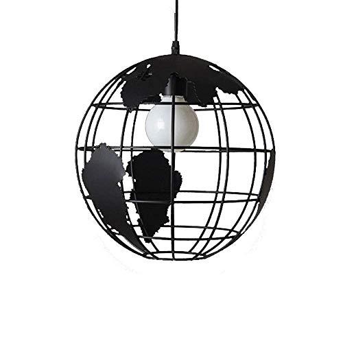 RUINAIER Iluminación de Cocina para el hogar Colgante Araña, Luces de Techo de la Ronda Luces Lámparas Granja Isla Colgante del Accesorio de iluminación Industrial Metal Retro de Comedor Cocina