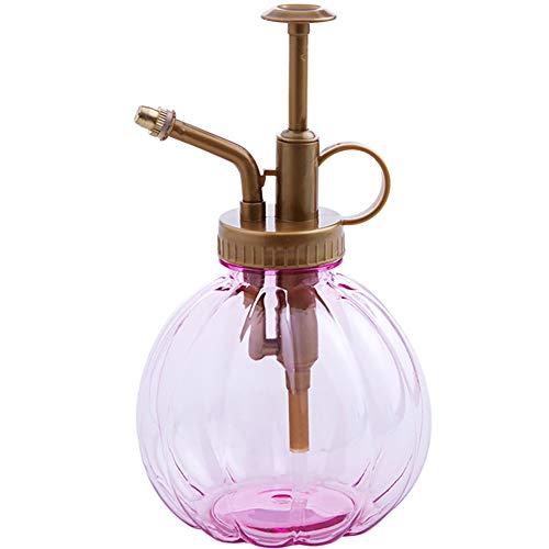 Ndier Mini-Usine Monsieur Vintage, Glasdekoration, Sprühflasche, mit Pumpe, für Zimmerpflanzen, 1 Stück, Rosa