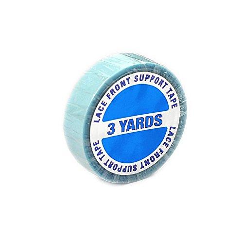 Rollo de adhesivo de repuesto para extensiones de pelo natural, 275 cm x 1,8 cm