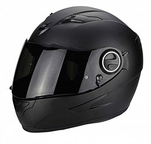 Scorpion Motorradhelm Exo 490 Mat, Schwarz, Größe M