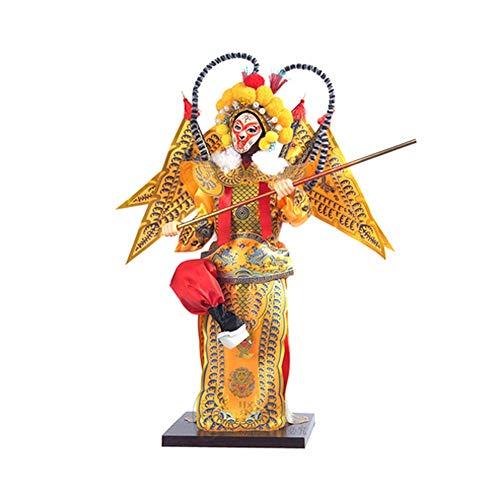 LLJXC Kultur im chinesischen Stil, kreative Geschenke und Kunsthandwerk, Puppen, Masken der Pekingoper (Color : D)