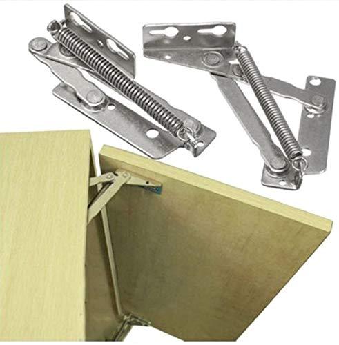 80 Degree Folding Sofa Bed Cabinet Hinge Spring Hinge (2 Pieces)
