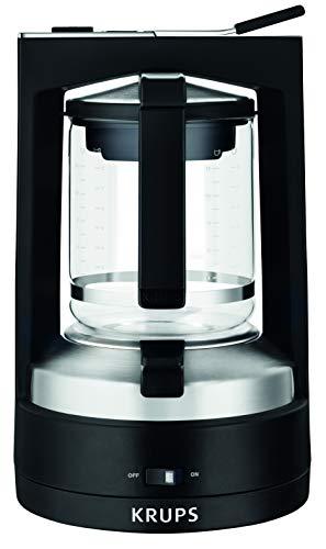 Krups KM4689 Filterkaffeemaschine T8 | 850 Watt | Automatische Abschaltung | 8-12 Tassen | Beleuchteter Ein-/ Ausschalter | Schwarz