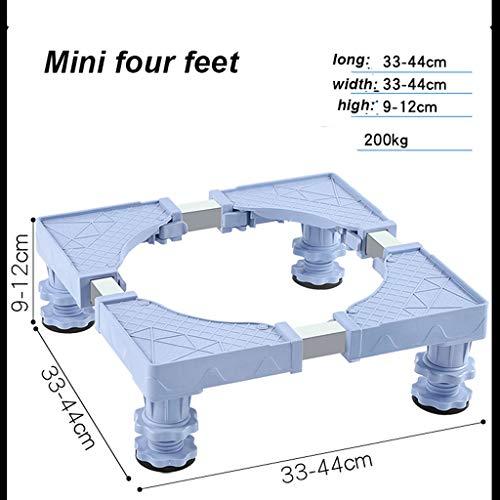 TMNNE Base de electrodomésticos – Lavadora de Pedestal Electrodomésticos móviles Ajustables Base…