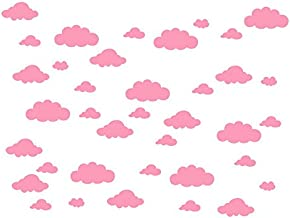 pink cloud wall stickers