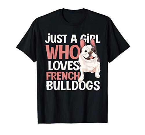 Cute Animal Pet Dog Frenchie Women Girls Gift French Bulldog T-Shirt