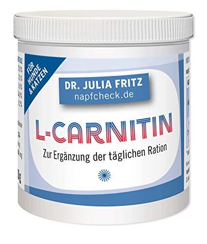 napfcheck L-Carnitin - zur Ergänzung der täglichen Ration - für Hunde und Katzen - 100 g
