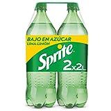 Sprite - Refresco de Lima-Limón bajo en azúcares y calorías - Pack 2 botellas 2L