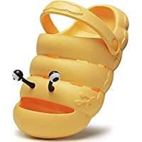 Kkiwnd Kids Clogs Toddler Slip On Lightweight Non-Slip Shoes