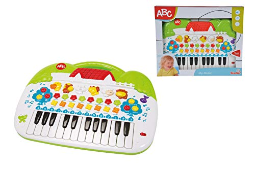 Simba 104018188 – ABC Tier-Keyboard 28x39cm - 6