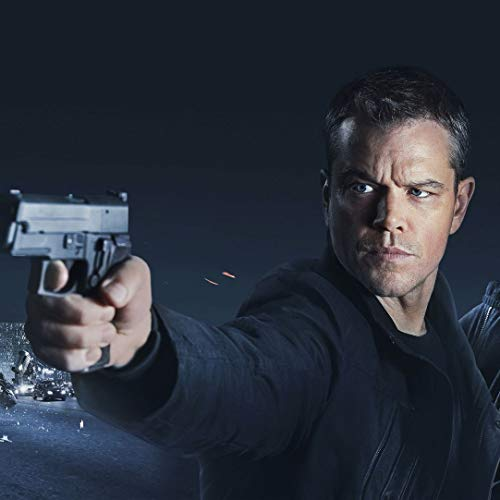 JUNLIZHU Jason Bourne Movie (60cm x 60cm | 24inch x 24inch) Silk Print Poster Silk Printing / C8AD2D