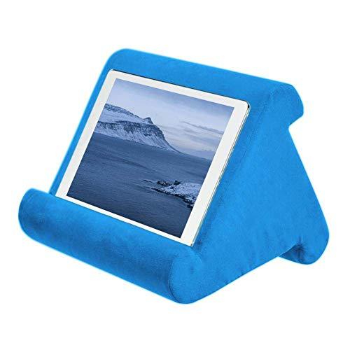 AITOCO Cojín para tablet para ordenador portátil, soporte para leer en la cama, soporte universal para teléfono y iPad, soporte para rodillas, escritorio, sofá, lector de libros electrónicos, cojín