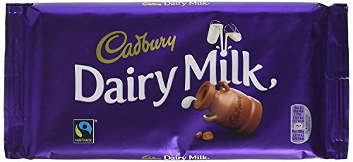 17 x Chocolade Reep Cadbury Dairy Milk 200 gram
