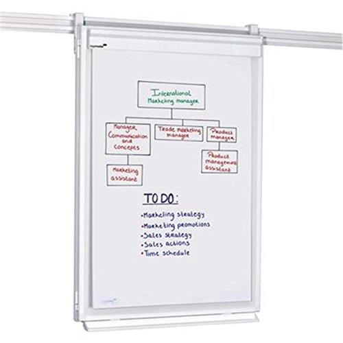 Legamaster 7-304300 Wand-Flipchart für Legaline Professional Wandschienensystem, 75 x 108 cm