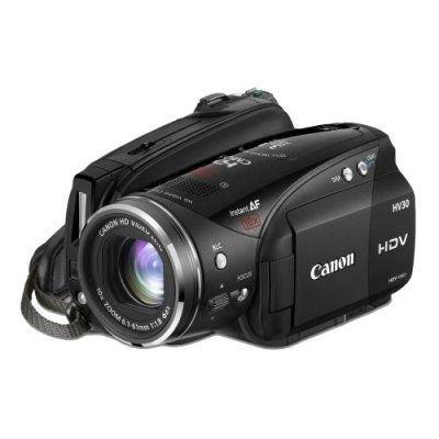 Canon VIXIA HV30 Full HD - Videocámara (2,96 MP, CCD, 25,4/2,7 mm (1/2.7