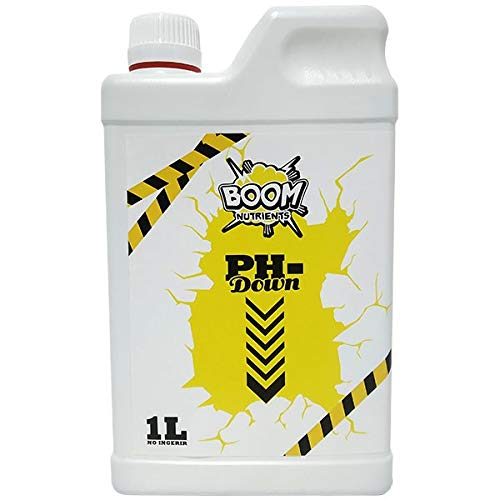 Boom Nutrients   Reductor de pH Down para Plantas Universal   pH- Boom (1L)