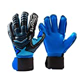Goalie Goalkeeper Gloves with Pro Fingersaves, Strong Grip for The Toughest Saves, Protection to...