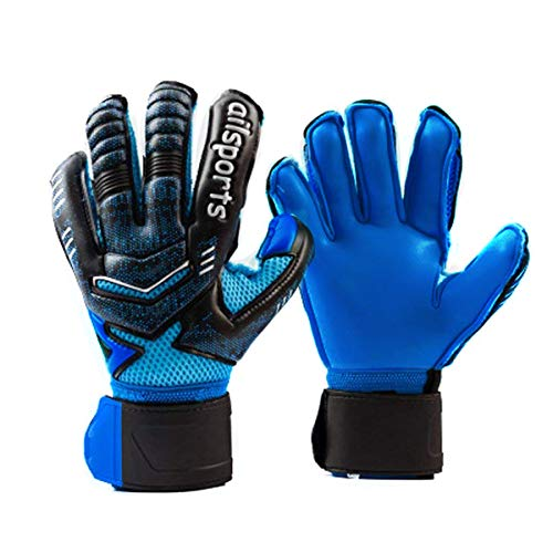 Goalkeeper Goalie Soccer Gloves with Fingersave, Strong...
