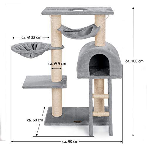 Kratzbaum Happypet CAT018-2 mittelhoch - 7