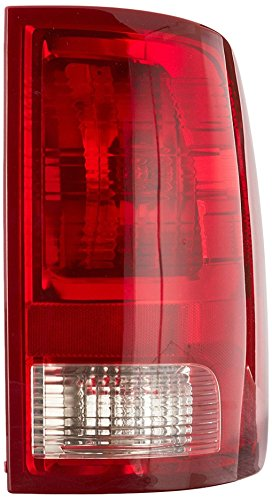 Dependable Direct Right Passenger Side Tail Light Lens & Housing for 2009-2017 Dodge Ram 1500 and 2010-2017 RAM 2500, 3500 CH2819124 - Includes the Bulb