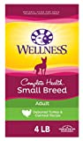 Wellness Complete Health Small Breed Dry Dog Food with Grains, Turkey & Oatmeal, 4 Pound Bag