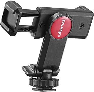 Ulanzi スマートフォン用三脚・一脚 マウント スマホホルダー マイクシュー・カメラシュー付き 角度調節可能