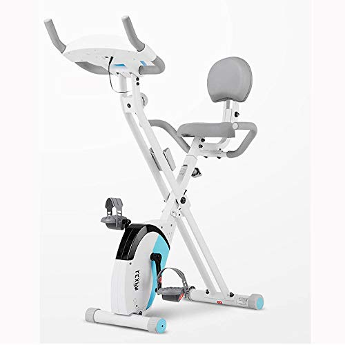 Best Bargain Lunchbox.com Multi-Functional Exercise Bike with Backrest Spinning, Foldable Fitness Ca...